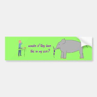 Compra do elefante adesivos