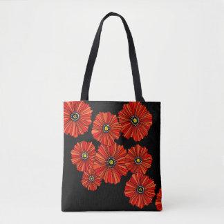 Compra reusável do bolsa vermelho e preto do