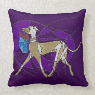 Comprar ido, galgo italiano do art deco travesseiros de decoração