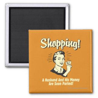 Comprar: Marido e seu dinheiro Ímã Quadrado