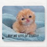 Comprar para o gatinho bonito mousepads