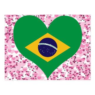Compre a bandeira de Brasil Cartão Postal