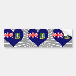 Compre a bandeira de British Virgin Islands Adesivo