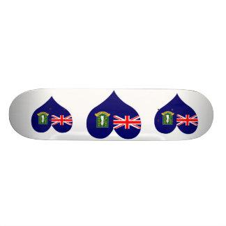Compre a bandeira de British Virgin Islands Skate