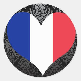Compre a bandeira de France Adesivo Redondo
