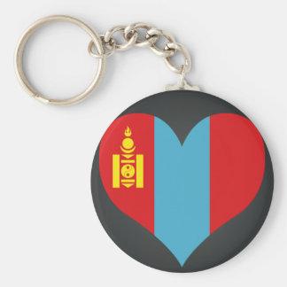 Compre a bandeira de Mongolia Chaveiro
