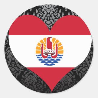 Compre a bandeira de Polinésia francesa Adesivo