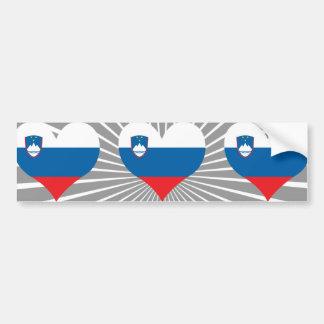 Compre a bandeira de Slovenia Adesivo Para Carro
