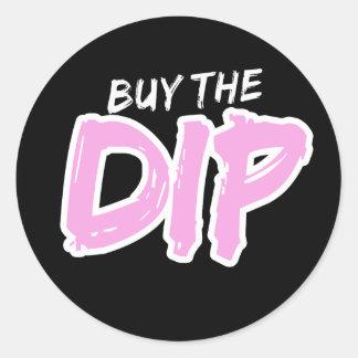 Compre a etiqueta do impressão do rosa do mergulho