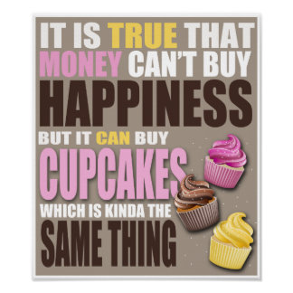 Compre cupcakes poster