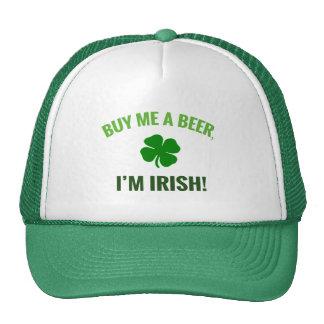 Compre-me uma cerveja, mim são irlandês boné