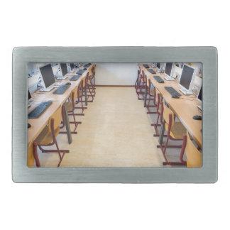 Computadores na sala de aula da educação holandesa