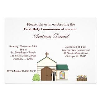 Comunhão santamente convite personalizado