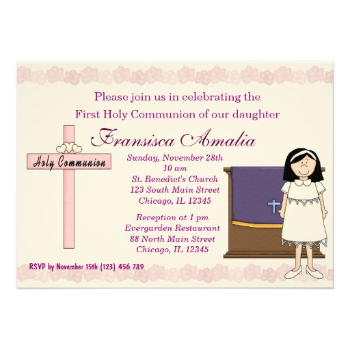 Comunhão santamente convite