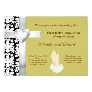 Comunhão santamente do damasco convites