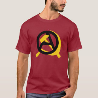Comunista do anarquista camiseta