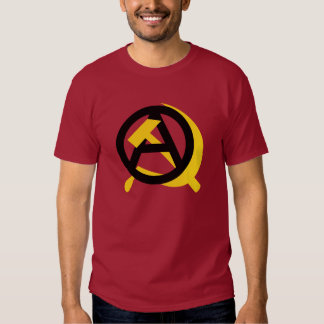 Comunista do anarquista tshirts