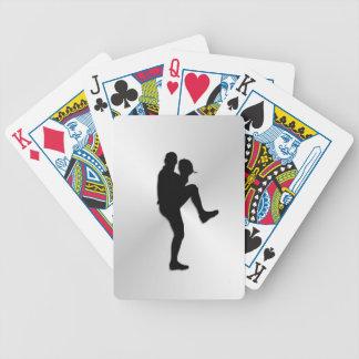 Conclusão do jarro do jogador de beisebol baralho de cartas