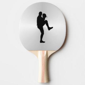 Conclusão do jarro do jogador de beisebol raquete para ping pong