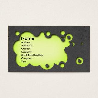 Concreto customisable bonito do cartão de visita
