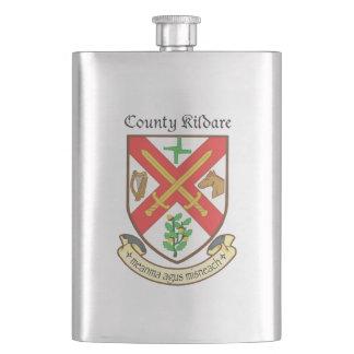 Condado Kildare 8 onças. Garrafa Frascos De Bebida