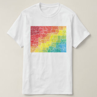 condados da cor de Colorado Camiseta
