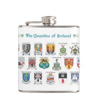 Condados da garrafa de Ireland