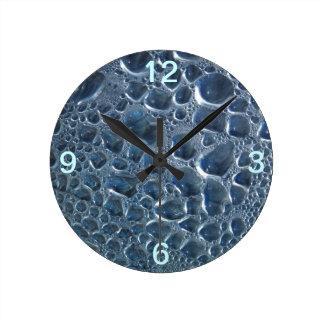 Condensação da garrafa de água relógios de paredes