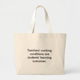 Condições de trabalho dos professores bolsas para compras