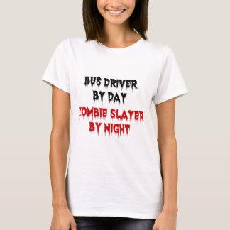 Condutor de autocarro pelo assassino do zombi do camiseta
