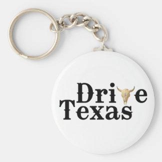Conduza o chaveiro de Texas