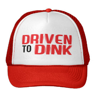 """""""Conduzido ao chapéu de Dink"""" Pickleball Boné"""