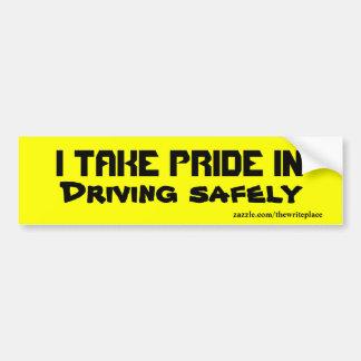 Conduzindo com segurança autocolantes no vidro tra adesivo para carro