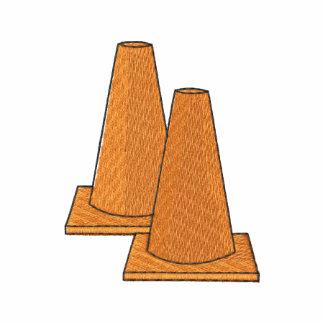 Cone da agilidade moletom com capuz de lã bordado