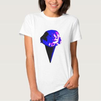 cone de gelado camisetas