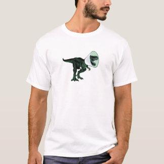 Cone de T-Rex da parte dianteira do T dos homens Camiseta