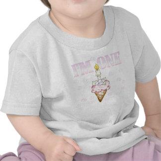 Cone do cupcake eu sou um tshirts