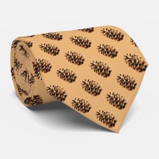 Cone do pinho gravata