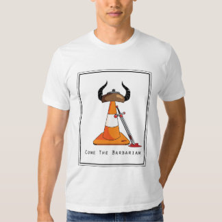 Cone o bárbaro tshirts