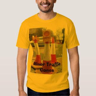 Cones do mineiro, cones do tráfego do mineiro t-shirts
