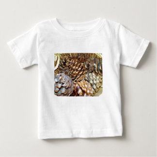 Cones do pinho, t-shirt infantil