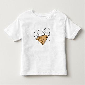 Cones do sorvete (baunilha) t-shirt