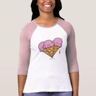 Cones do sorvete (morango) tshirts