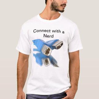 Conexão de USB Camiseta