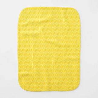 Conexão em cascata brilhante dos cubos do amarelo  paninho de boca