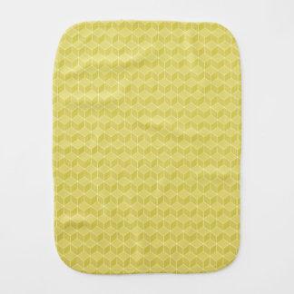 Conexão em cascata colorida ouro dos cubos 3D Paninhos De Boca