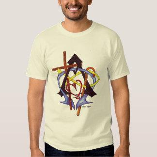 Conexões do amor camisetas