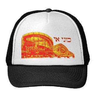 Coney Island no hebraico Boné