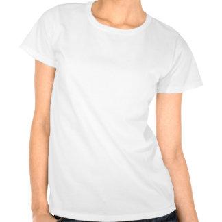 Confecção de malhas dos pinos de segurança t-shirts