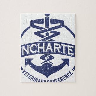 Conferência veterinária desconhecida quebra-cabeças